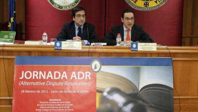 Francisco De La Torre Y José Gabriel Ruiz, En La Conferencia