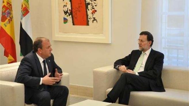 Mariano Rajoy Y José Antonio Monago