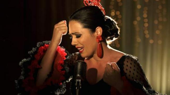 Una imagen del 'biopic' sobre Isabel Pantoja, 'Mi Gitana'.
