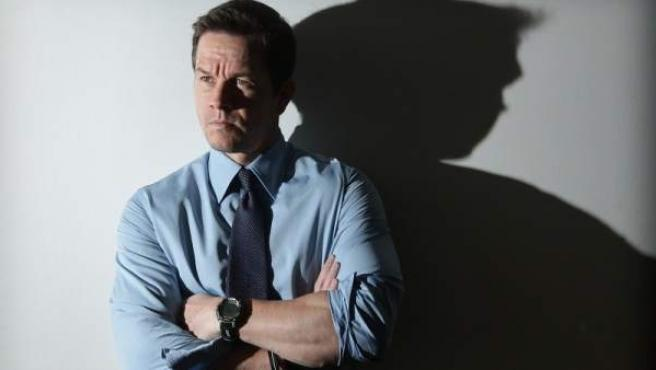 El actor Mark Wahlberg durante la promoción de 'Contraband'.