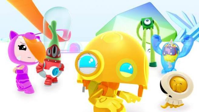 Una imagen de los Clanners, personajes del canal de RTVE Clan.