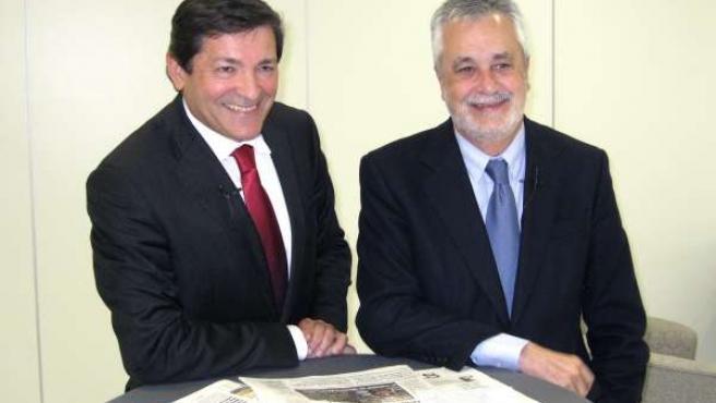 José Antonio Griñán Y Javier Fernández