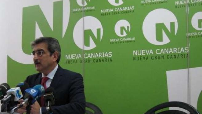 El Presidente De NC, Román Rodríguez