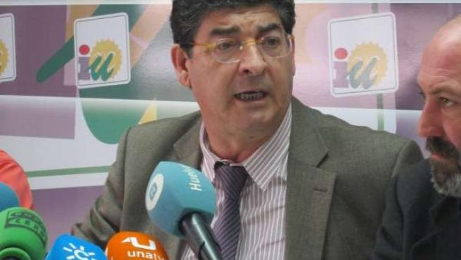 El Candidato De IULV-CA A La Presidencia De La Junta, Diego Valderas.
