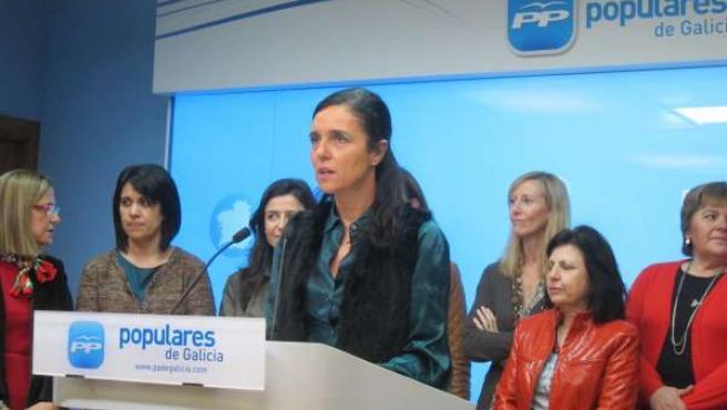 La Presidenta De La Cámara, Pilar Rojo, Lee Un Manifiesto A Favor De La Igualdad