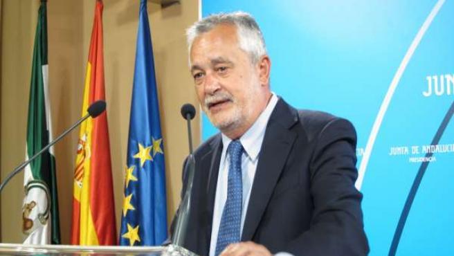 José Antonio Griñán, Presidente De La Junta