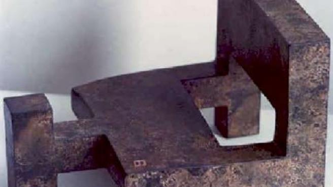 Escultura 'Gnomon II' De Eduardo Chillida