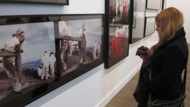 Muestra`Colapso' En La Sala De Exposiciones De La Hospedería Fonseca