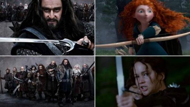 Los estrenos más esperados de 2012: 'El Hobbit', 'Brave', 'Los juegos del hambre'...