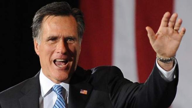 El exgobernador de Massachusetts y candidato a liderar el Partido Republicano en las próximas elecciones de EE UU.
