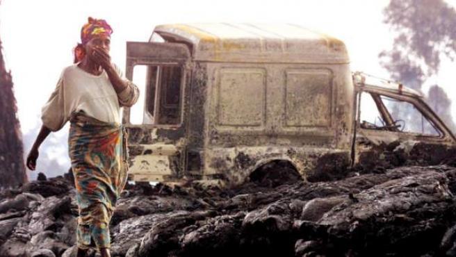 Una mujer de la República Democrática del Congo, en una imagen de archivo.