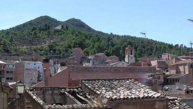 El pueblo de Rasquera (Tarragona).