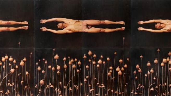 El pintor ruso hace una interpretación del mito clásico de Orfeo y Eurídice