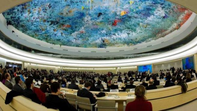 Vista general de una sesión especial del Consejo de Derechos Humanos de la ONU.