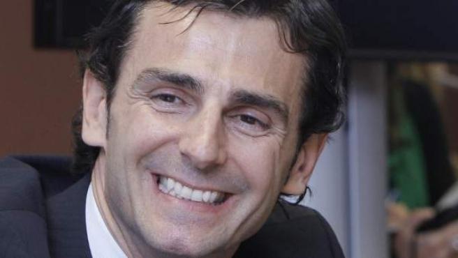 Pedro Martínez de la Rosa, en rueda de prensa.