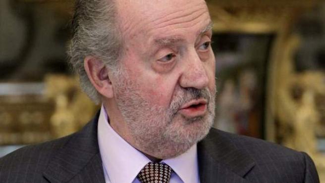 Imagen de archivo del rey Juan Carlos.
