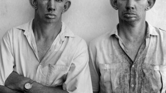 Una de las fotos más conocidas de Ballen es la de este par de gemelos