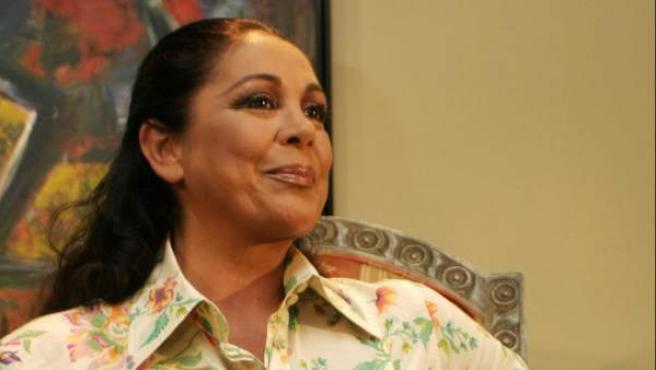Isabel Pantoja, durante una entrevista en Puerto Rico.