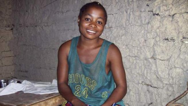 La congoleña Kungwa Kyalwa, de 23 años y madre soltera de tres hijos, es una desplazada del conflicto congoleño que fue violada por las Fuerzas Democráticas para la Liberación de Ruanda.