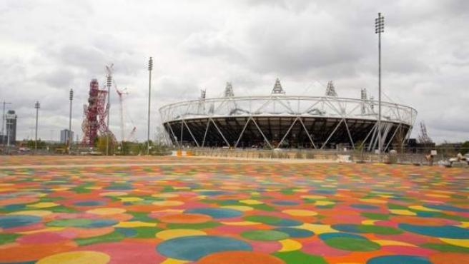 Estadio Olímpico de Londres 2012.