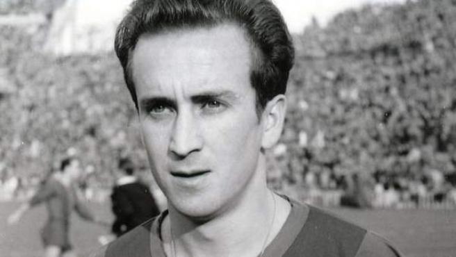 El exfutbolista del FC Barcelona, Estanislao Basora.