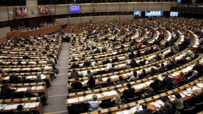 Una sesión del Parlamento europeo en Bruselas.