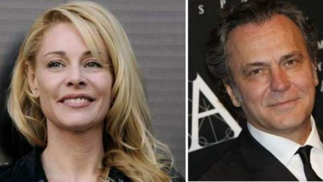 Los actores Belén Rueda y José Coronado, que protagonizan 'El cuerpo'.