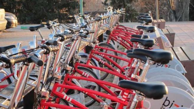 Bicicletas Del Servicio Bizi