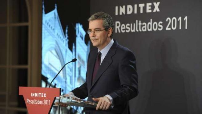 Pablo Isla, Presidente Y Consejero Delegado De Inditex