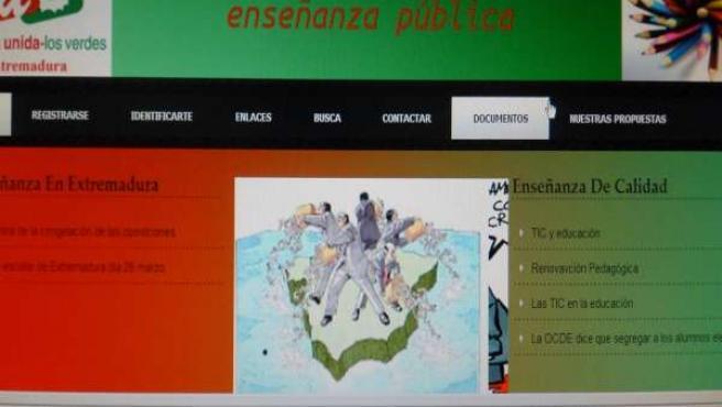 Página Web IU