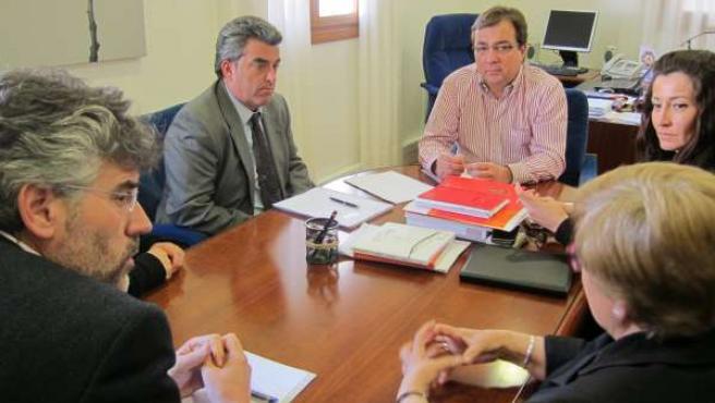 Reunión Grupo Socialista Con Anadir