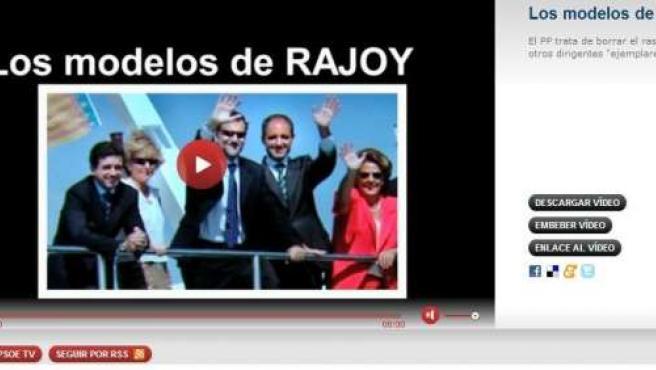 """Vídeo Del PSOE """"Los Modelos De Rajoy"""""""