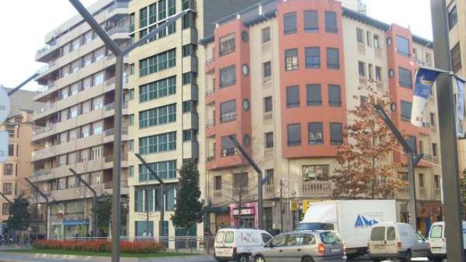Imagen De Como Quedaría El Edificio De Gran Vía, 25, Derribado Por Explosión