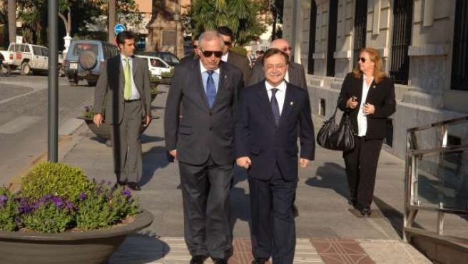 Juan José Imbroda y Juan Jesús Vivas, presidentes de Melilla y Ceuta