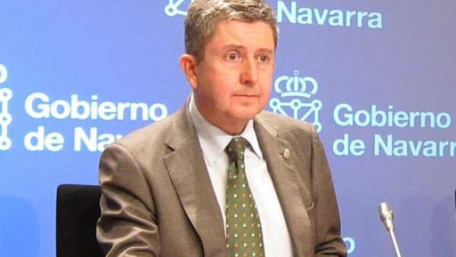 El consejero de Economía y Hacienda del Gobierno de Navarra, Álvaro Miranda.