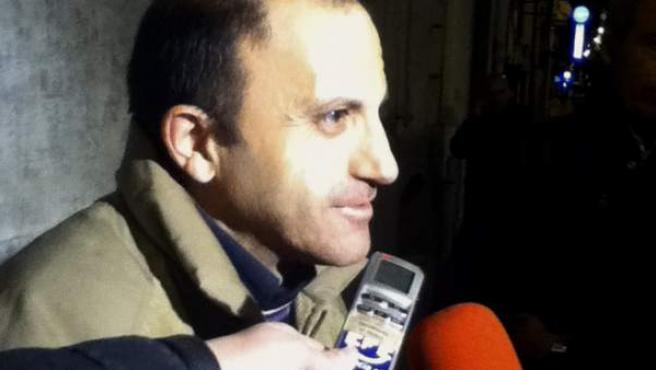 El español Oscar Sánchez, encarcelado en Italia desde hacía más de un año.