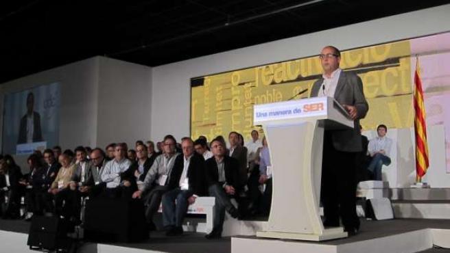 Felip Puig En El XVI Congreso De CDC
