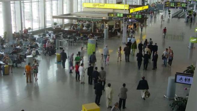 Visita De La Delegación Brasileña Al Aeropuerto Malagueño