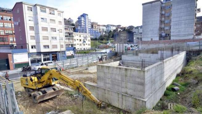 Obras Reanudación Edificio Tetuán