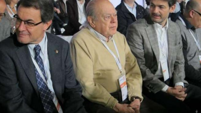 Artur Mas, Jordi Pujol Y Oriol Pujol (CDC)