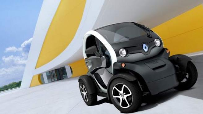 El Renault Twizy, un utilitario urbanita, biplaza y eléctrico.