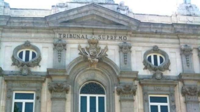 Imagen de la sede del Tribunal Supremo, en Madrid.