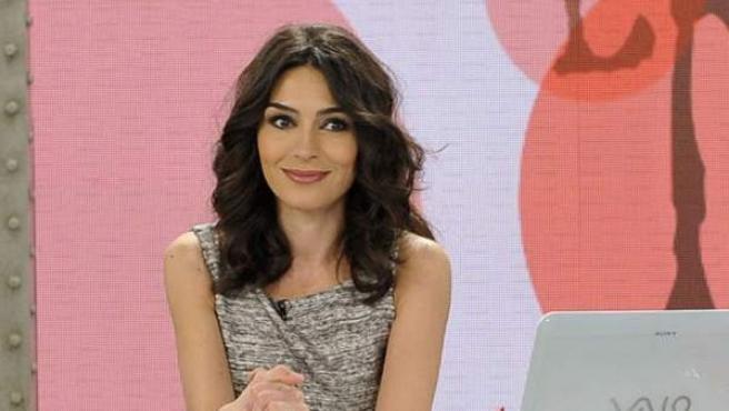 La periodista Marta Fernández, en una edición de su programa 'Las mañanas de Cuatro'.