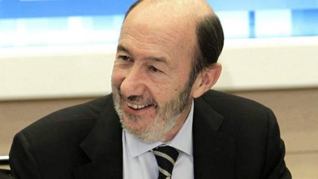 El líder del PSOE, Alfredo Pérez Rubalcaba, en una imagen de archivo.
