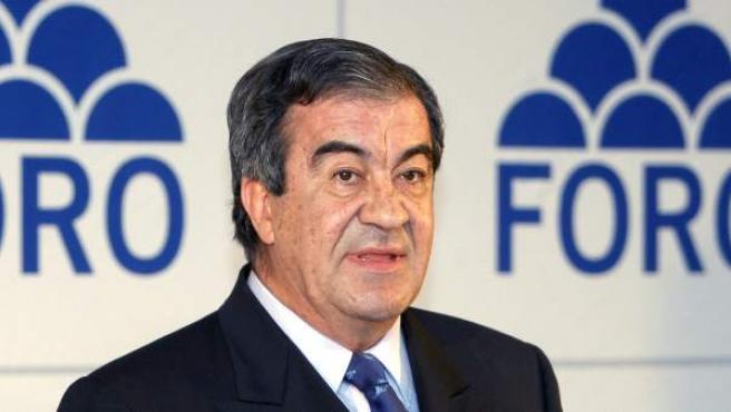 El expresidente de Foro (FAC), Francisco Álvarez-Cascos.