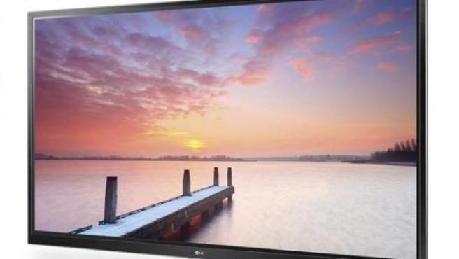 Televisor de LG con tecnología PLED.