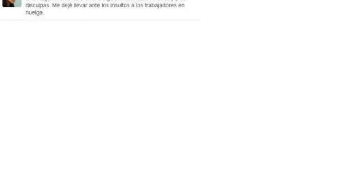 'Tuit' De Adriana Lastra