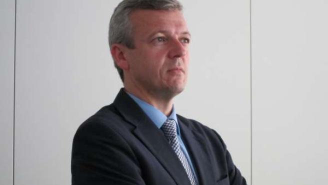 El Conselleiro De Presidencia, Alfonso Rueda.