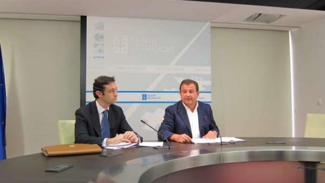 Javier Guerra Y Javier Aguilera Presentan El Plan 'Re-Acciona'