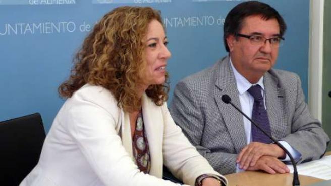 Los Concejales Lola De Haro Y Esteban Rodríguez